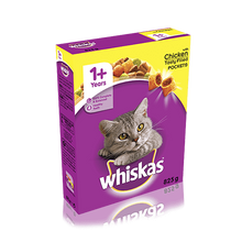 Whiskas +1 Dry Chicken Pockets (340g/825g/2Kg)