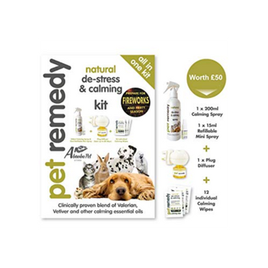 Pet Remedy Natural De-Stress and Calming Kit