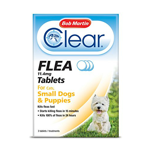Bob Martin Clear Flea Cats, Small Dogs and Puppies 3 Tablets