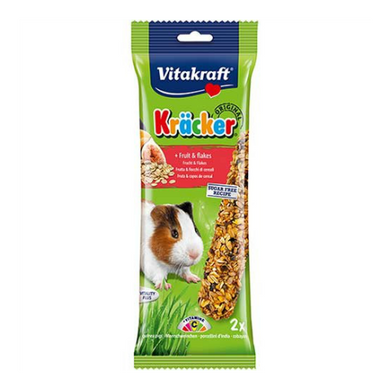 Vitakraft Kracker Fruit Flakes for Hamsters 112g