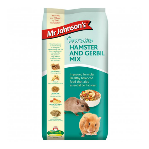 Mr Johnson's Supreme Hamster & Gerbil Mix 900g