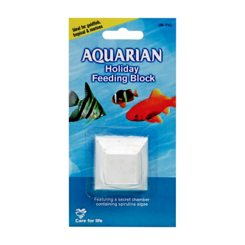 Aquarian Holiday Feeding Block 45g