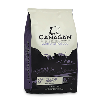 Canagan Light Senior (2Kg/6Kg/12Kg)