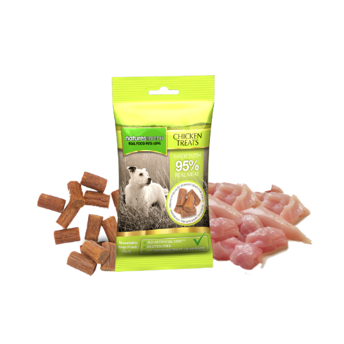 Natures Menu 95% Meat Chicken Treats 60g