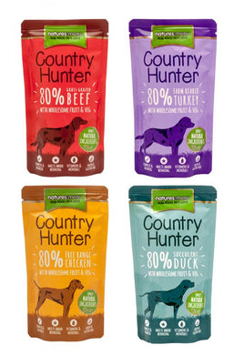 Natures Menu Country Hunter Pouch 150g (different flavours)