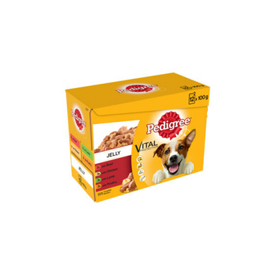 Pedigree Adult Pouches in Jelly 12x100g