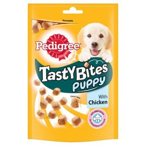 Pedigree Tasty Bites Puppy with Chicken 130g