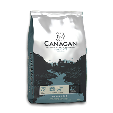 Canagan Scottish Salmon for Cats (375g/1.5Kg/4Kg)