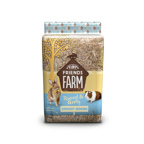 Tiny Friends Farm Russel & Gerty Supasoft Bedding 17ltr