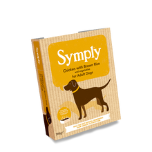 Symply Chicken with Brown Rice For Adult Dogs 395g