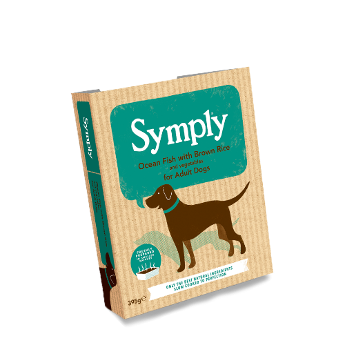 Symply Ocean Fish with Brown Rice For Adult Dogs 395g