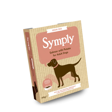 Symply Salmon and Potato for Adult Dogs 395g