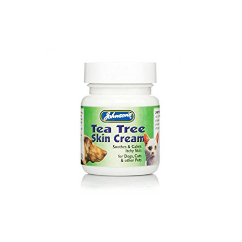 Johnsons Tea Tree Skin Cream for Cats and Dogs