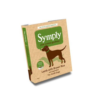 Symply Lamb with Brown Rice For Adult Dogs 395g