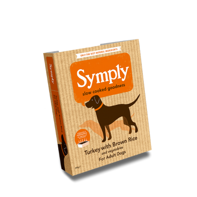 Symply Turkey with Brown Rice For Adult Dogs 395g