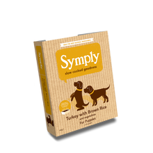 Symply Turkey with Brown Rice For Puppies 395g