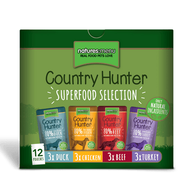 Natures Menu Country Hunter Superfood Selection 12x150g