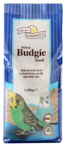 Walter Harrison's Select Budgie Food (1.25kg/20kg)