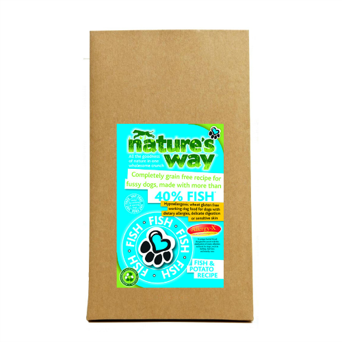 Natures Way Fish & Potato (2Kg/12Kg)