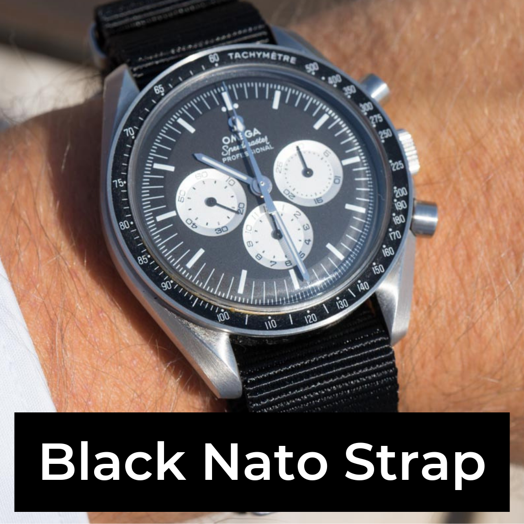 Black Nato Strap lookbook