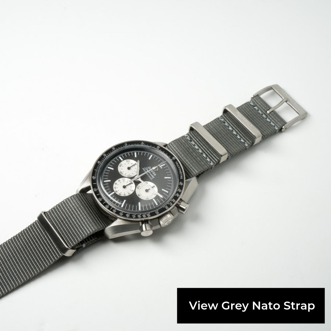 view grey nato strap premium swiss quality