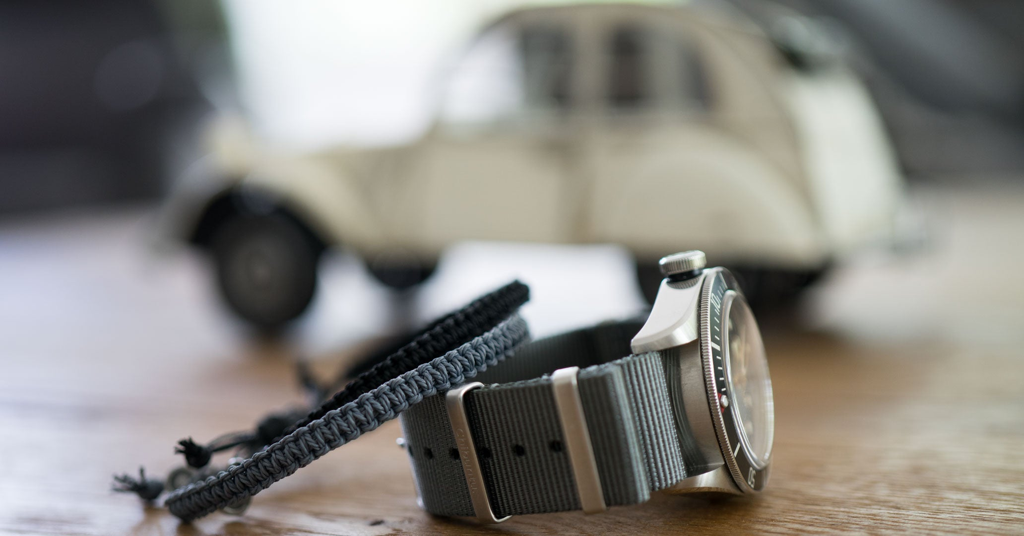 buy grey nato watch strap online