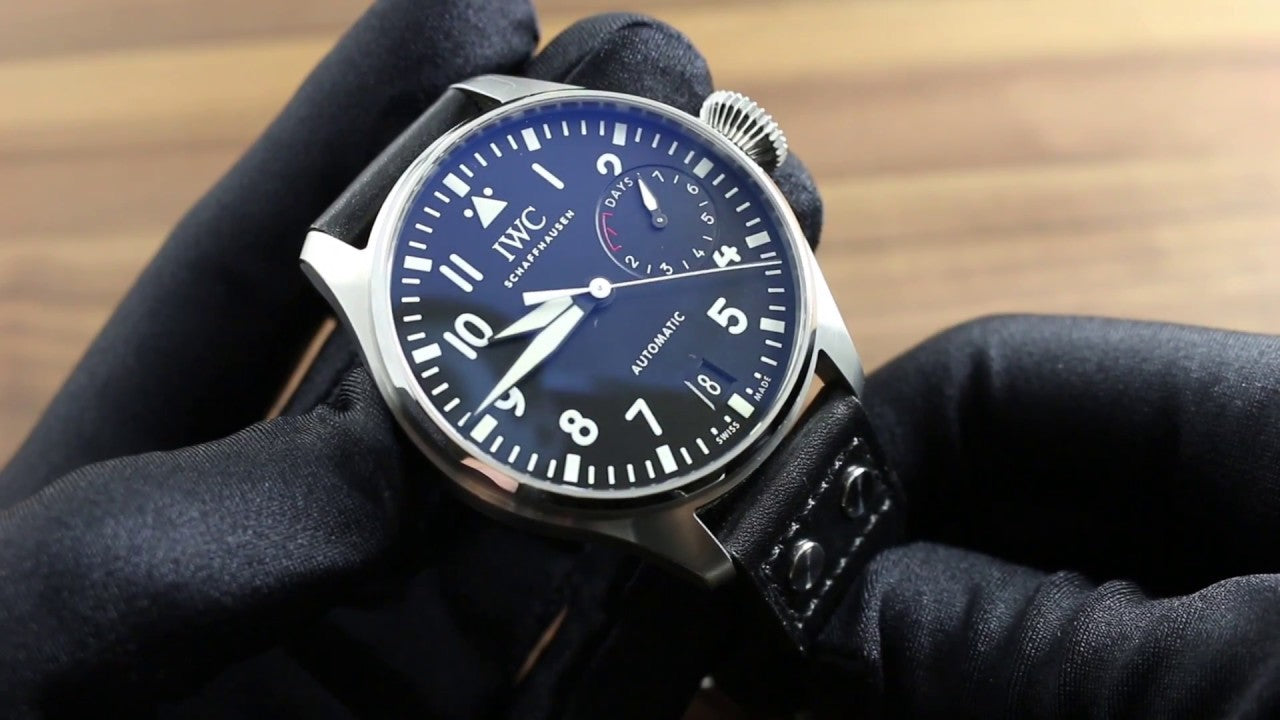 IWC pilot watch nato strap
