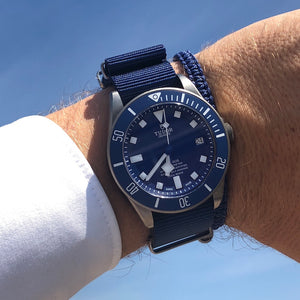 Navy Blue Nato Strap & Cobra