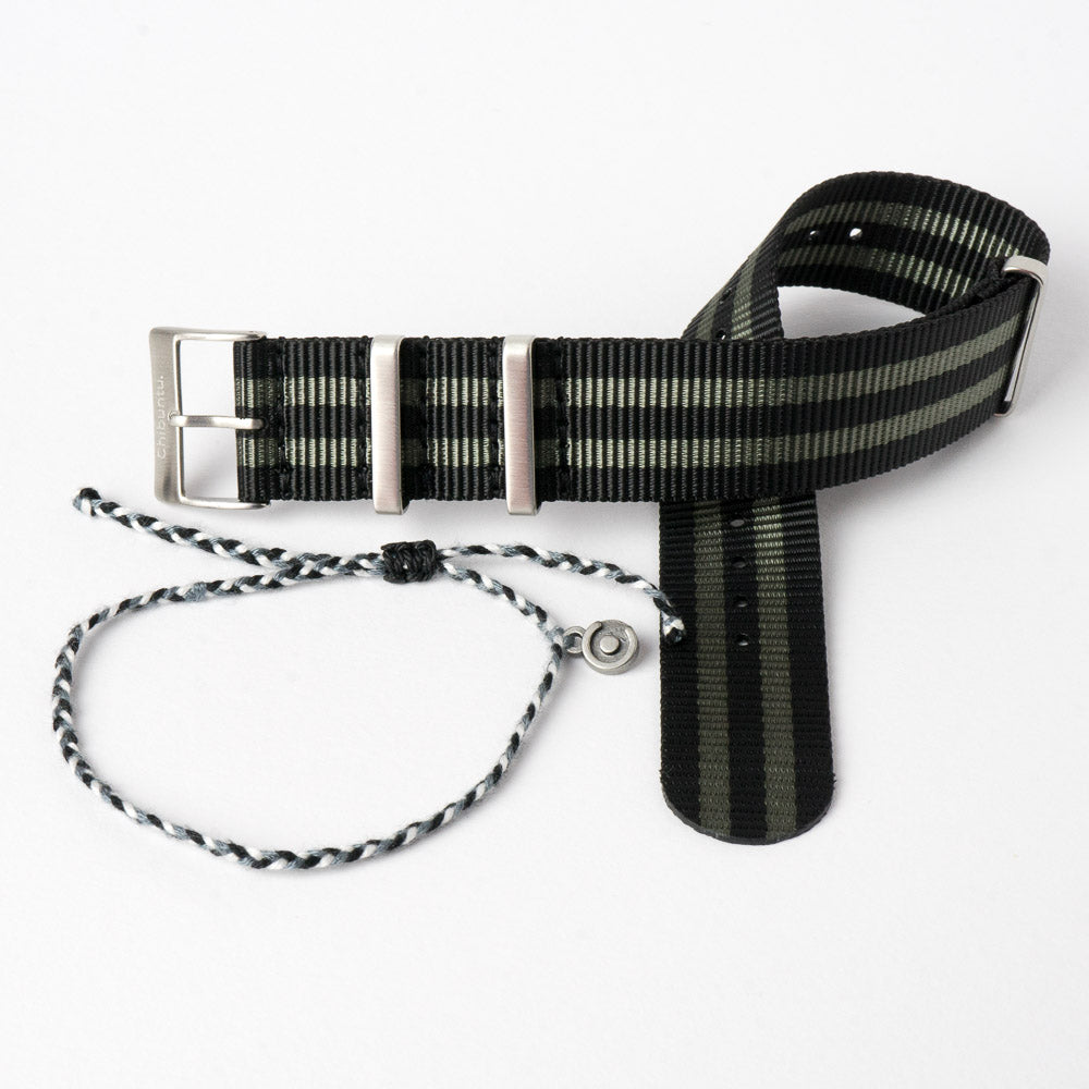 james bond nato watch strap 22m