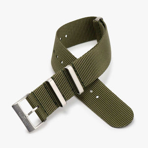 Olive Green Nato Watch Strap