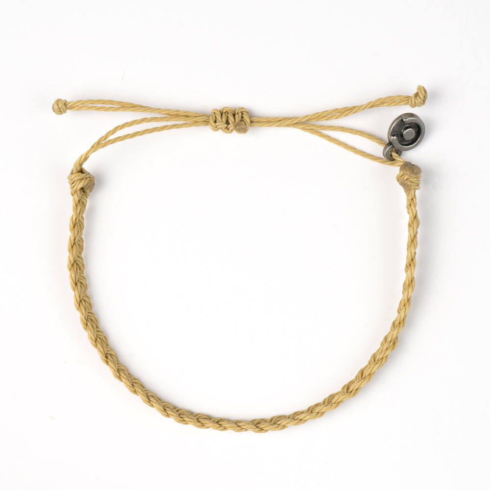 beige bracelet for men
