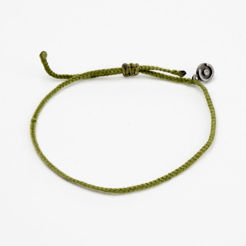 Olive Green Original Cotton Bracelet