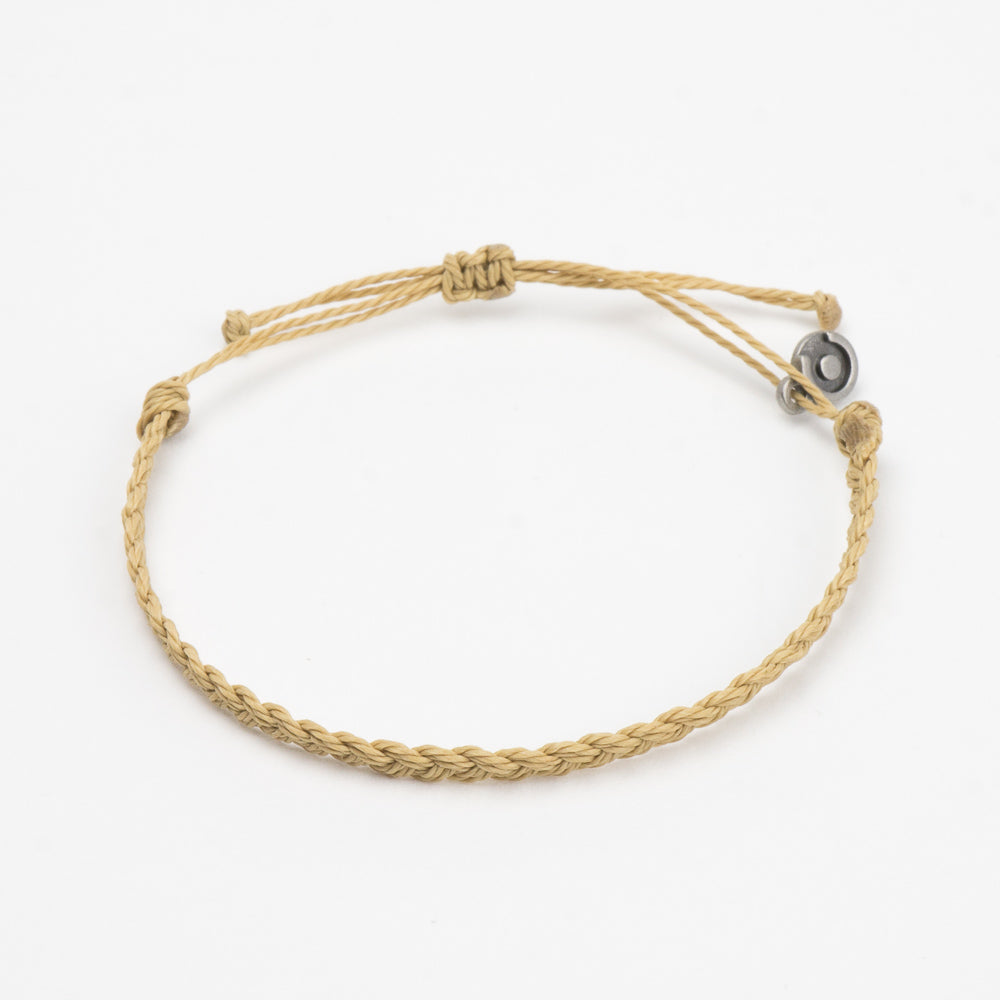 khaki minimal bracelet for men