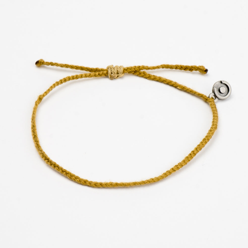 khaki golden look men's bracelet