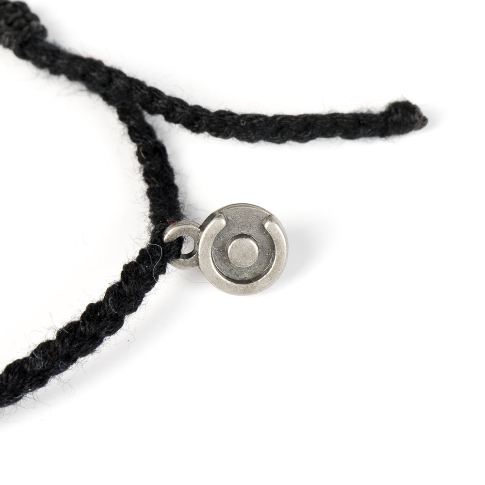 Bold Black Original Cotton Bracelet