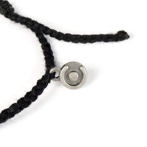 black men's cotton bracelet