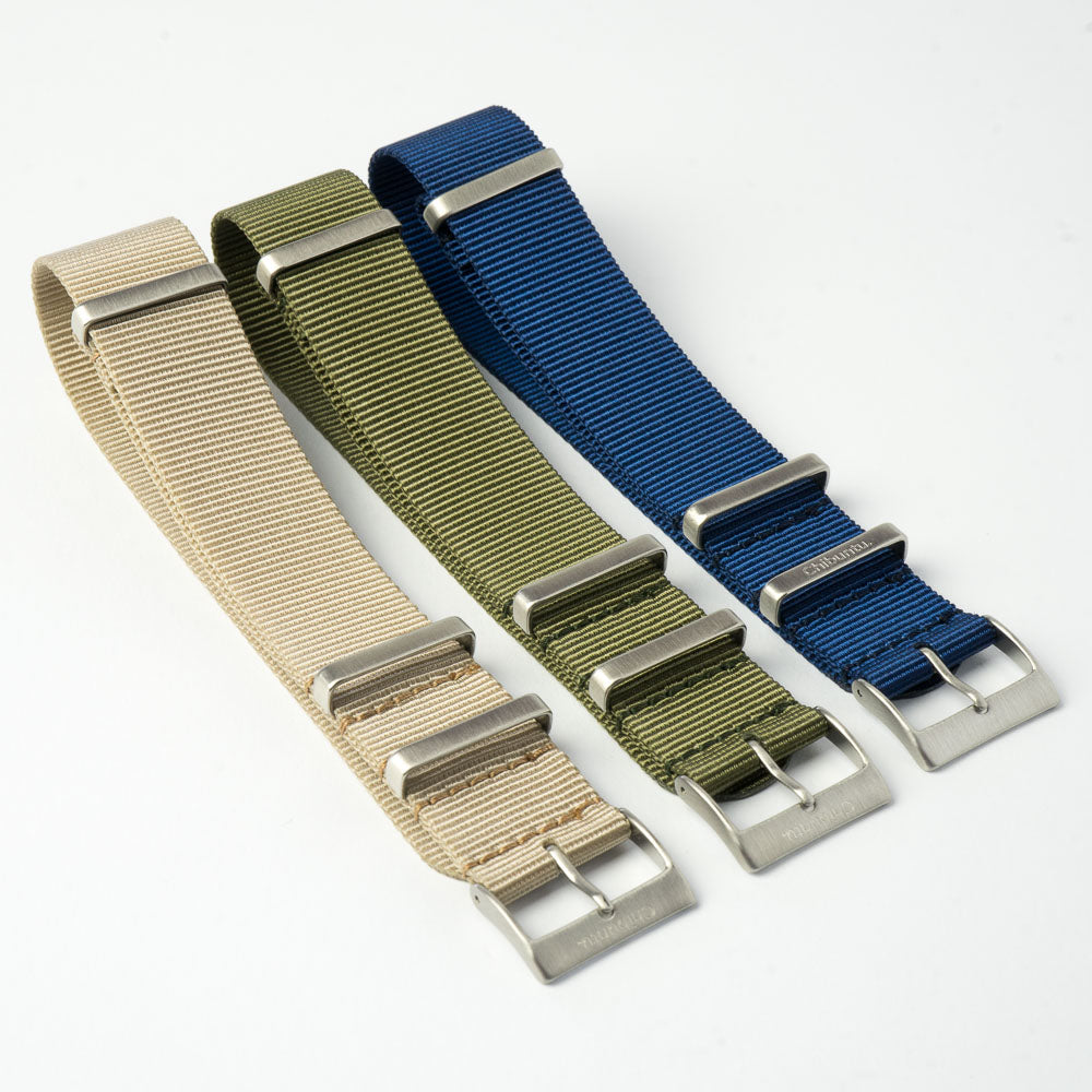 navy blue nato watch strap 22mm