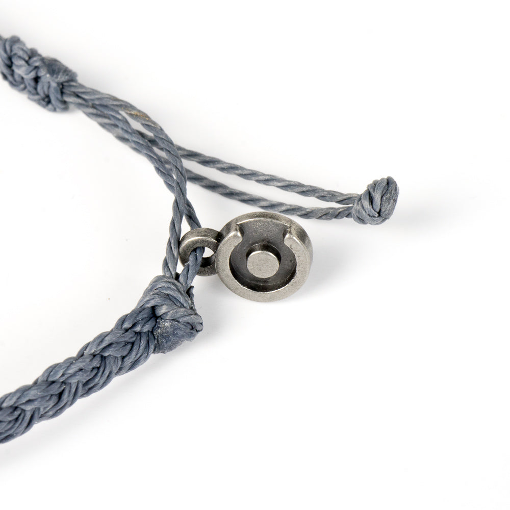 grey bracelet for men