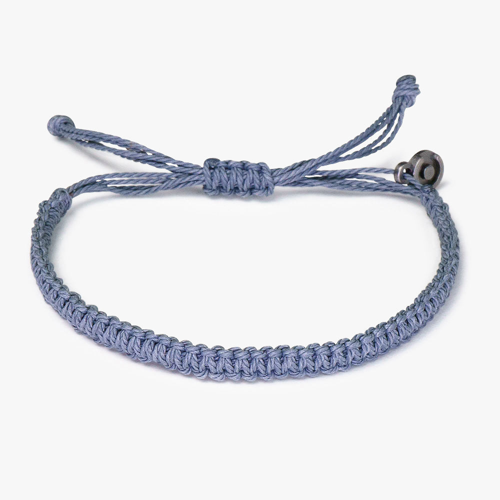 Deep Grey Cobra Bracelet