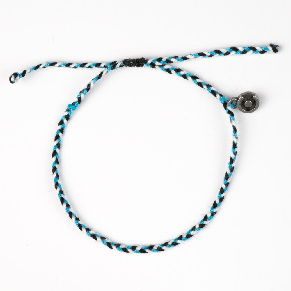 cotton james bond bracelet for men