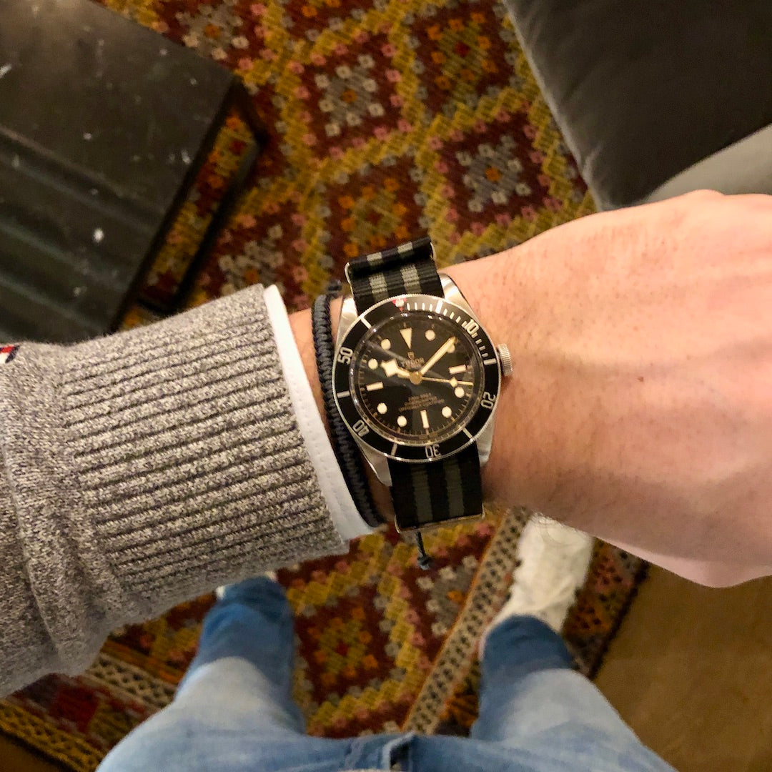 james bond nato strap tudor