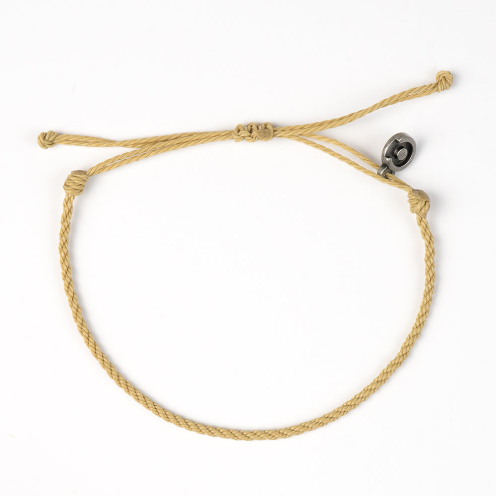 Cool Khaki Twisted Bracelet