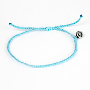 Sky Blue Original Cotton Bracelet