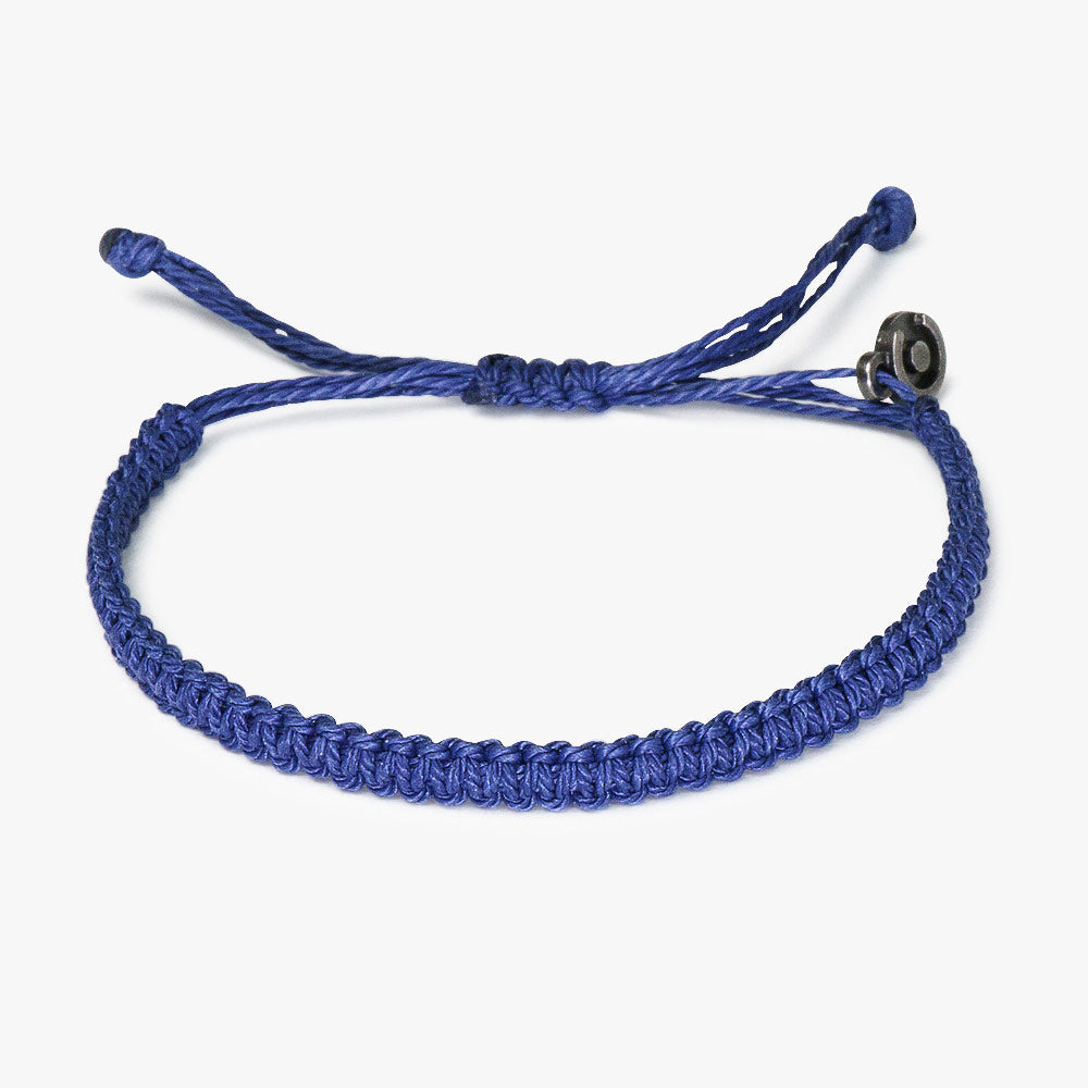 Navy Blue Cobra Bracelet