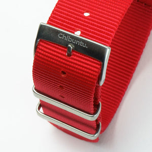 Nepal Red Nato Watch Strap