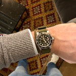 Load image into Gallery viewer, Olive Green Nato Strap & Cobra