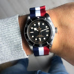 Load image into Gallery viewer, Red White & Blue Nato Strap