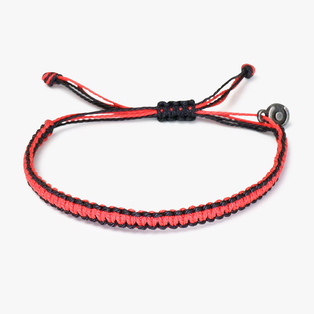 Vintage Bond Cobra Bracelet Red