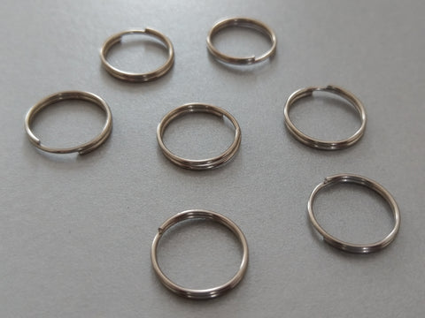 Roman Blinds Replacement - 19mm metal split rings for Roman Shades - Pack of 1,000 - www.mydecorstore.co.uk