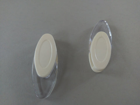 Cream Tear-Drop Crystal Plastic Cord Weight for Roller Roman Vertical Touch & Panel - from £0.12 - www.mydecorstore.co.uk